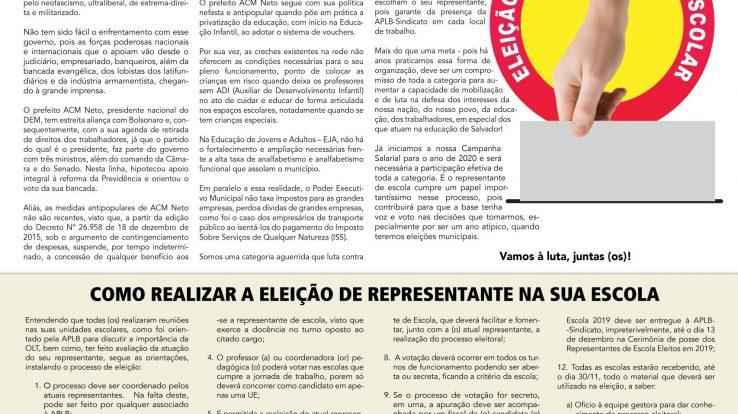 Boletim Eleição Representante de Escola 2019