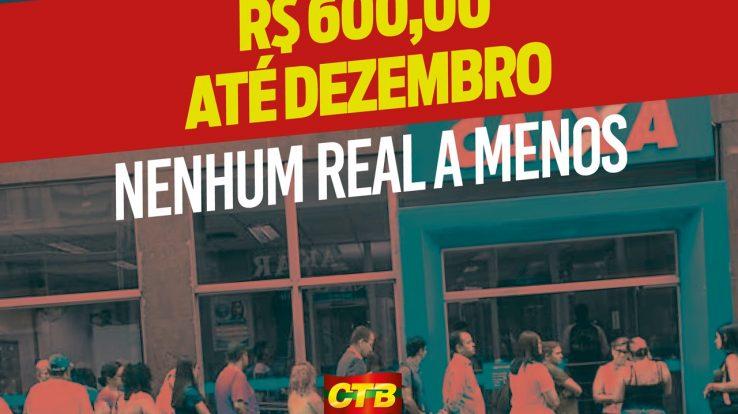 Adilson Araújo: Não falta dinheiro para socorrer a classe trabalhadora